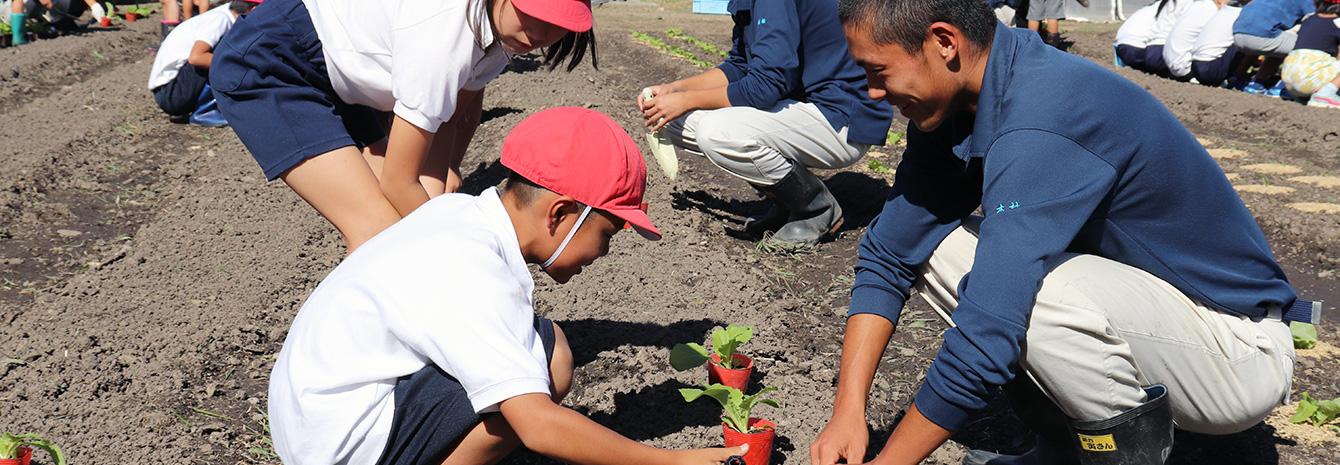 植物コースの授業風景イメージ